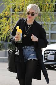 cyrus style out in studio city january 2015