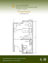 a floor plan senior living floor plans point rehabilitation healthcare