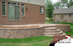 Brick Patio Design Ideas Landscaping Paver Patio Design In Shelby Twp Mi Home