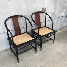 Asian Patio Furniture by Pair Of Henredon Asian Style Chairs U2013 Urbanamericana