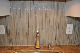 glass tile kitchen backsplash that is one seriously cool