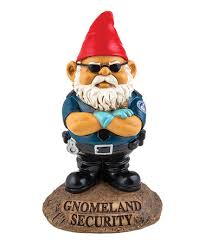 Gnome Garden Decor Loving This Gnomeland Security Garden Décor On Zulily