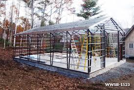 building a workshop garage custom steel garage workshop kits worldwide steel buildings