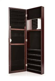 Mirror For Sale Furniture Wall Mounted Black Jewelry Armoire With Shelves And