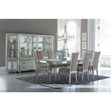 aico michael amini bel air park 4 leg dining table set in