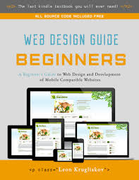 web design guide for beginners about the book