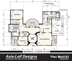 mediterranean floor plans with courtyard med103