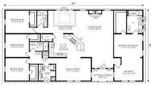 3 Bedroom Ranch Floor Plans Modular Ranch Home Floor Plans 2017 Including 3 Bedroom Picture