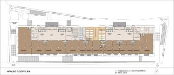 Retail Floor Plans Icc Trade Tower Office Retail Spaces At S B Road Pune