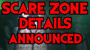 halloween horror nights 2017 scare zone details announced youtube