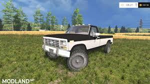1985 Ford F100 Ford F250xlt 1985 Diesel 4x4 V 1 0 Mod For Farming Simulator 2015