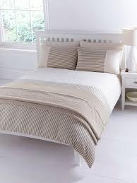 White Stripe Duvet Cover Beige Stripe Duvet Cover Home Design Ideas
