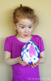 diy giant plaster easter eggs