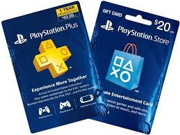 ps4 gift card 1 year ps plus 20 ps gift card ps3 ps4 digital code