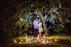 Wedding Altar Backdrop How To Plan A Romantic Evening Wedding