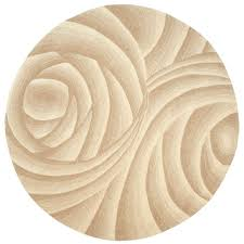 area rugs home decorators home decorators collection optics beige 7 ft 9 in round area rug