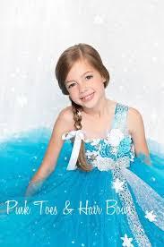 Elsa Costume Winter Wonderland Tutu Dress Elsa Frozen Inspired Tulle Dress