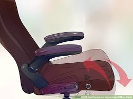 Orthopedic Chair How To Choose An Ergonomic Office Chair 12 Steps With Pictures