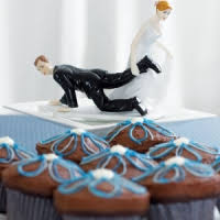 Funny Wedding Cake Toppers Wedding Cake Toppers Humorous Comical Personalized Initials