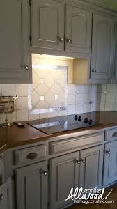 Easy To Clean Kitchen Backsplash How To Paint Kitchen Tile And Grout An Easy Kitchen Update