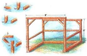 Plans To Build A Firewood Shed by How To Build A Timber Frame Woodshed Diy Mother Earth News
