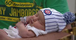 cubs newborn fan club chicago hospitals see spike in births 9 months after cubs world