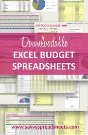 Monthly Expenses Spreadsheet 22 Best Budgets And Financial Planning Images On Pinterest