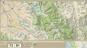 Yosemite Topo Map Live Aprs Topo Display