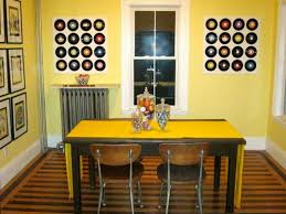 Bedroom With Bright Yellow Walls Inexpensive Decorating Ideas How To Decorate On A Budget View