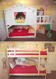 Ikea Beds For Kids Ikea Bed Hack My Ikea Bed Make Over Into A Playhouse Bed My Home