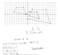 Transformations Geometry Worksheet Showing Similarity Students Are Asked To Use The Definition Of