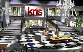 kris jenner u0027s new talk show set is a near duplicate of her own