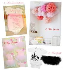 tutu baby shower theme baby shower ideas linen lace