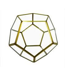bloom room glass u0026 metal terrarium gold finished joann