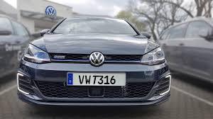 volkswagen dark blue vw golf vii gte facelift hybrid what is the gte button pov