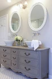 Furniture Style Bathroom Vanities Furniture Style Bathroom Vanity Made From Stock Cabinets Part 1