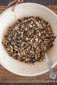 thanksgiving side dish cranberry herb rice pilaf everyday