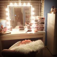vanity makeup tour makeup storage organization 2016 diy vanity