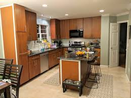 how to restain cabinets the same color refinishing kitchen cabinet design color help