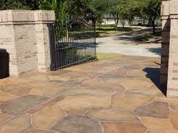Concrete Patio Houston Resurface Your Concrete Pool Deck With Carvestone By Allied