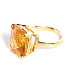 tiffany sparklers ring in 18k tiffany u0026 co 18k gold citrine sparklers cocktail ring 5 5 76237