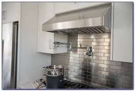 Stainless Steel Tile Backsplash Grout Color Tiles  Home Design - Stainless tile backsplash