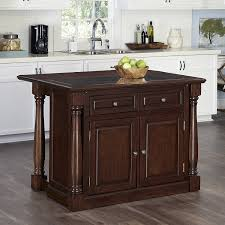granite top kitchen island home styles 5007 945 monarch kitchen island with