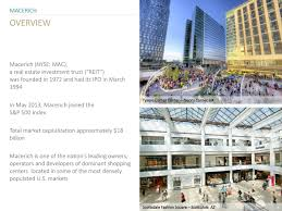 Scottsdale Fashion Square Map Macerich Mac Presents At 20th Annual Real Estate Securities
