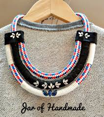 diy necklace with rope images Jar of handmade diy the coolest rope necklace jpg