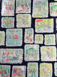 lilly pulitzer sample stamp print fabric rare hard to find