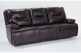 marco leather power reclining sofa bob u0027s discount furniture