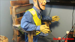 electric chair halloween prop youtube
