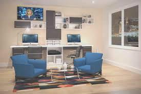 built in desks for home office modern custom home office design Built In Office Ideas