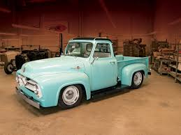 Vintage Ford Truck Body Parts - 1955 ford f 100 pickup truck rod network
